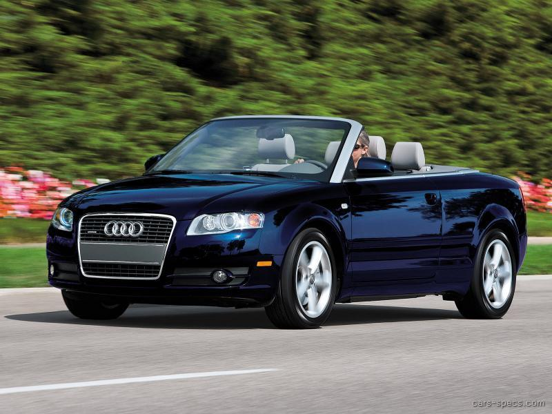 2008 audi a4 convertible specifications pictures prices. Black Bedroom Furniture Sets. Home Design Ideas