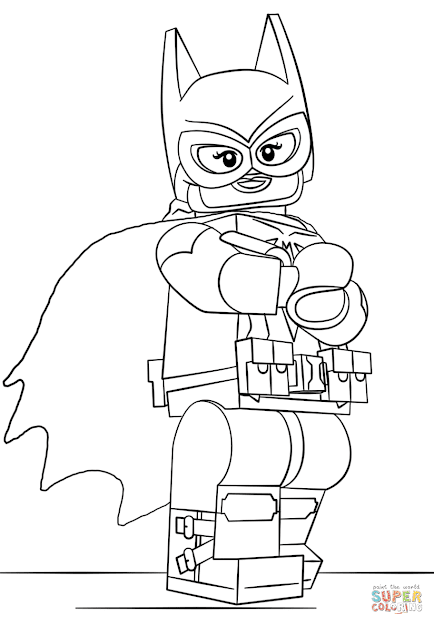 Click The Lego Batgirl Coloring Pages To View Printable Version Or Color It  Online Patible With Ipad And Android Tablets