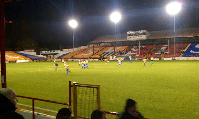 trybuna przyjezdnych Shelbourne FC