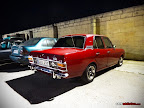 Red Vintage Ford Cortina