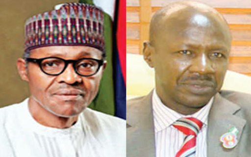 Buhari and EFCC