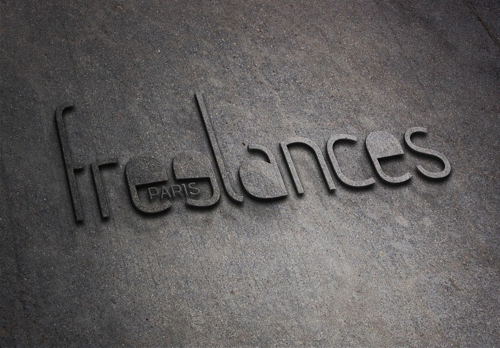 sublimation presentation logo photorealistic trademark corporate design freelancesDOTwork concretewall