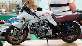 Detailed model of motorcycle