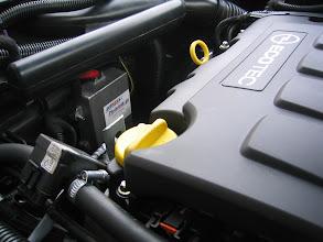 Photo: Motor nach Umrüstung / Gassteuergerät