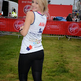 OIC - ENTSIMAGES.COM - Aliki Chrysochou at the Virgin London Marathon 2015 in London 26th April 2015  Photo Mobis Photos/OIC 0203 174 1069