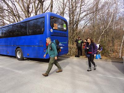 Plitvice...Izabrali smo najljepše mjesto za izlazak iz busa u Hrvatskoj