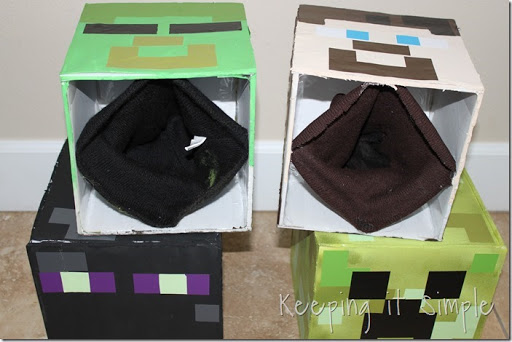 DIY-Minecraft-Creeper-Steve-and-Zombie-Costumes (13) : diy minecraft costume  - Germanpascual.Com
