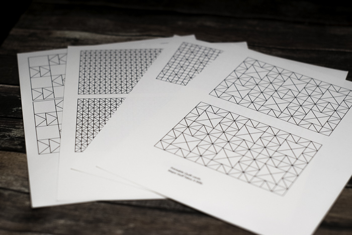 Adult coloring sheets quilt inspired