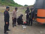 Tim Gegana Brimob Polda Jabar Musnahkan Mortir di Gunung Putat Kecamatan Bungursari