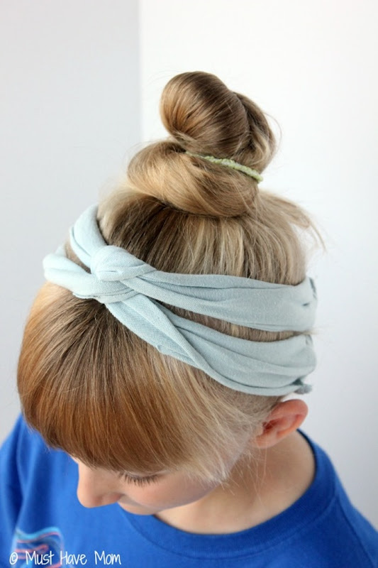 DIY-T-Shirt-Headband-Side-View