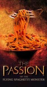pastafarismo o monstruo espaguetti volador
