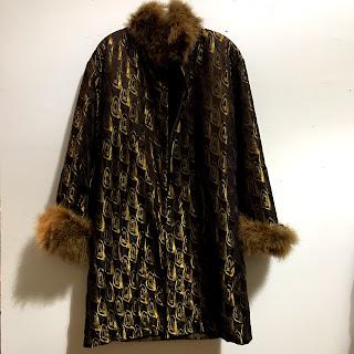 Jean Paul Gaultier Femme Lamé Coat