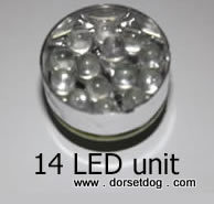 14 LED torch unit