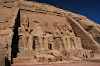 From Aswan we made a long day trip to see the two temples at Abu Simbel. The first was constructed for Ramesses II.