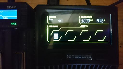 DSC 6537 thumb%255B2%255D - 【バッテリー/充電器】「NITECORE Superb Charger SC4」(ナイトコア・スーパービーチャージャー・エスシーフォー)レビュー。3A*2で最大6A給電可能な最強充電器!【VAPE/電子タバコ/アクセサリ】