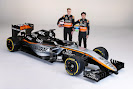 Force India VJM08 with Nico Hulkenberg and Sergio Perez