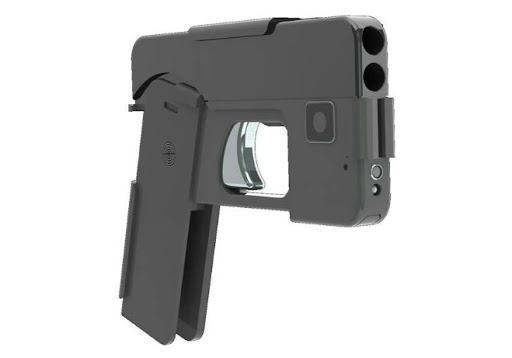This Gun Looks Like A Smartphone And The Police Is Getting Worried. 1