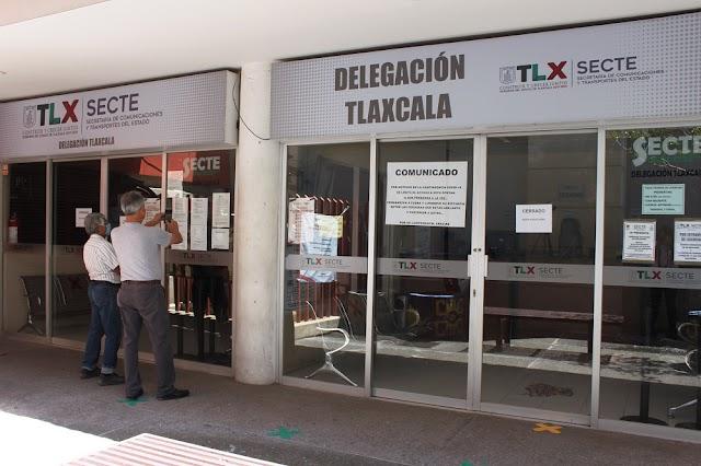 Suspenden SECTE y Finanzas atención al público en oficinas como medida de prevención por Covid-19