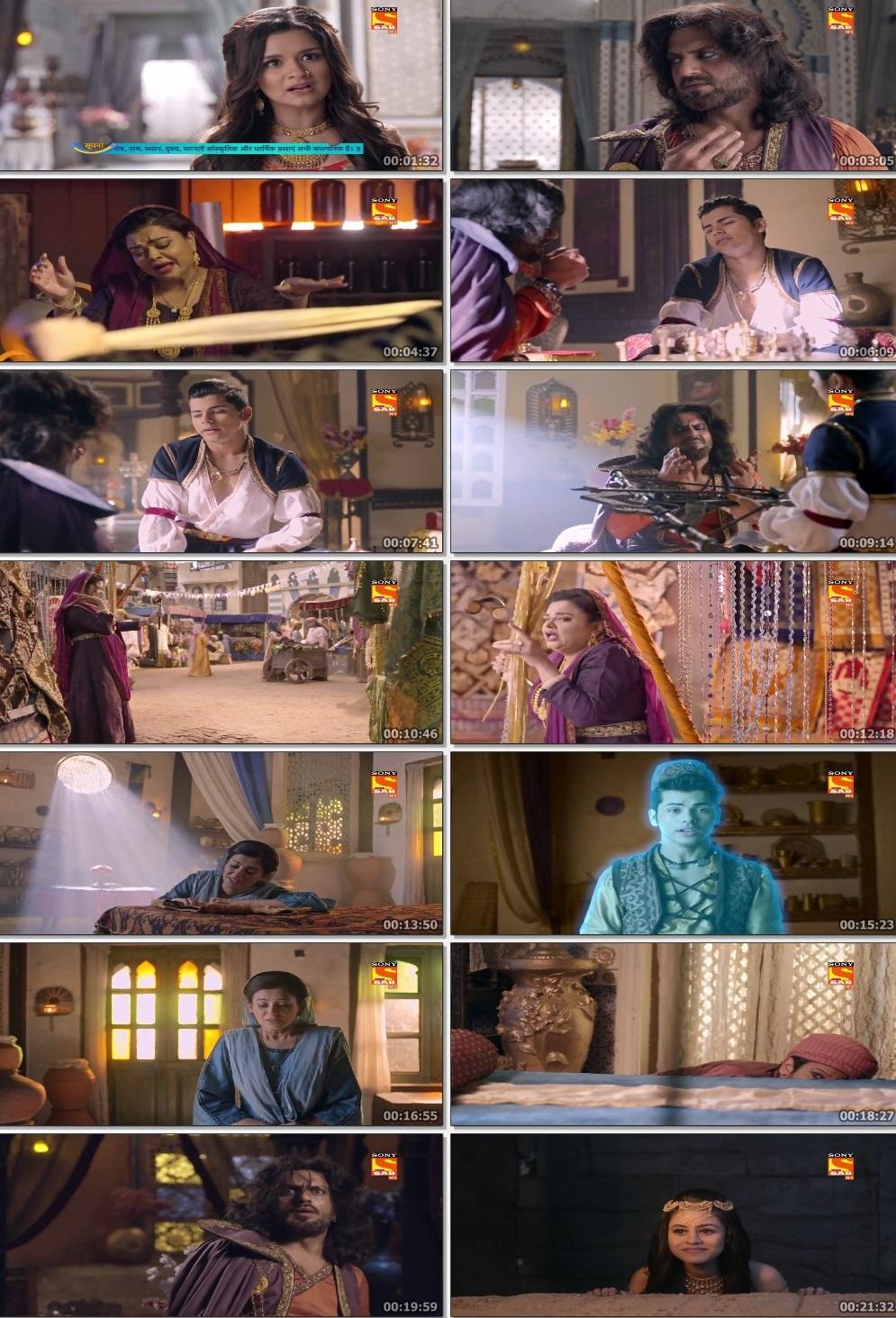 Screenshots Of Hindi Show Aladdin – Naam Toh Suna Hoga 2019 Episode 289 300MB 720P HD