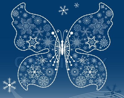 3077318-christmas-dark-blue-background-with-snowflake-butterfly-vector