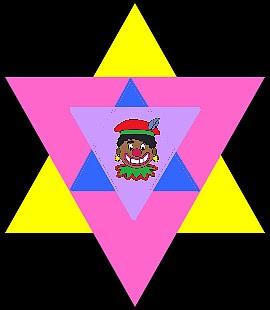 Lesbisch joodse immigrante Jehova's getuige bang voor Zwarte Piet