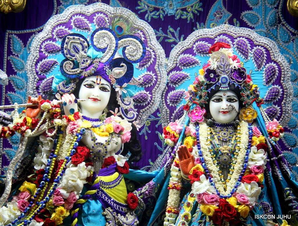 ISKCON Juhu Sringar Deity Darshan on 7th July 2016 (2)