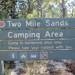 Welcome to Two Mile Sands Camping Area