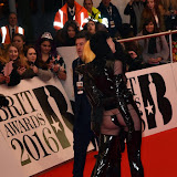 OIC - ENTSIMAGES.COM - Pam Hogg at the  The BRIT Awards 2016 (BRITs) in London 24th February 2016.  Raymond Weil's  Official Watch and  Timing Partner for the BRIT Awards. Photo Mobis Photos/OIC 0203 174 1069