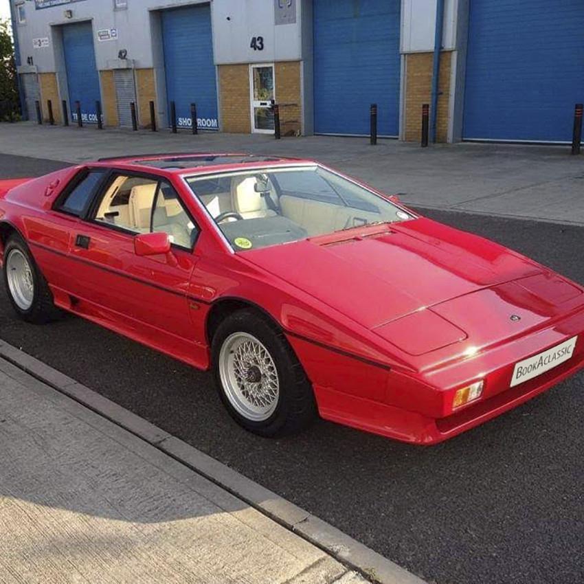 Lotus Turbo Esprit Hire Camberley