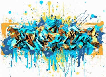 Graffiti Mawor Indilabel: 3D Artistic Graffiti Arrow-Brush Spray ...