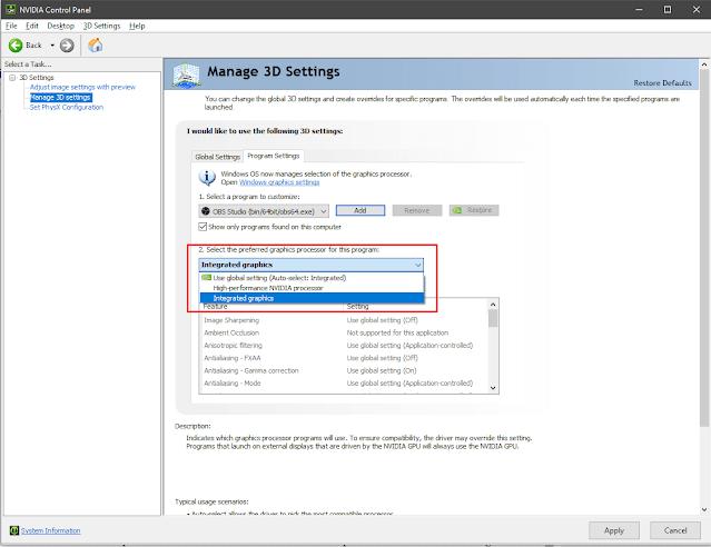 Cara Mengatasi Display Capture OBS Tidak Tampil [Black Screen]