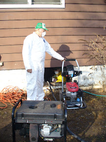 More power washing for Chuck and Anthony