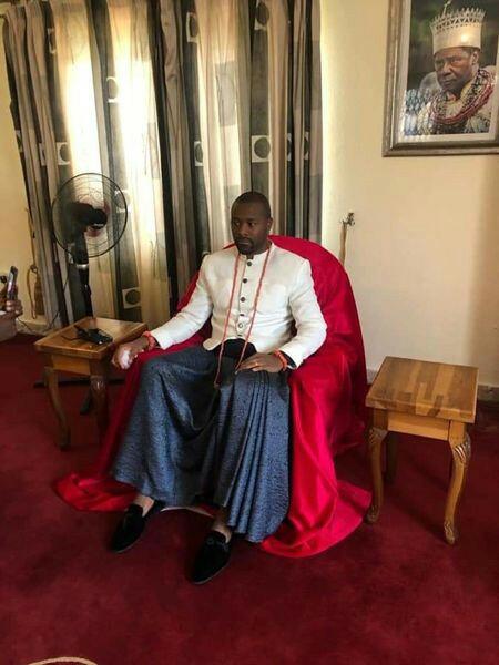 Olu of Warri's successor revealed as palace chiefs announce his death (photos)