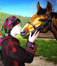 Hutsulyk, the Hutsul horse