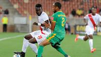 Ghanaian footballer Mohammed Anas in action