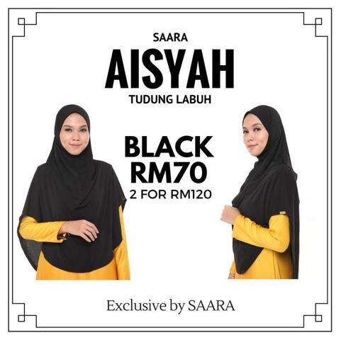 Pakaian Muslimah SAARA, pakaian muslimah patuh syariah, tudung labuh malaysia
