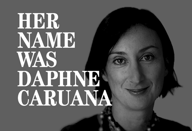 Daphne Caruana Galizia was a Maltese journalist. She was killed in a car bomb attack in 2017. Despite intimidation, threats and lawsuits, she refused to give up on sharing the truth with the public. Photo: Pippa Zammit Cutajar
