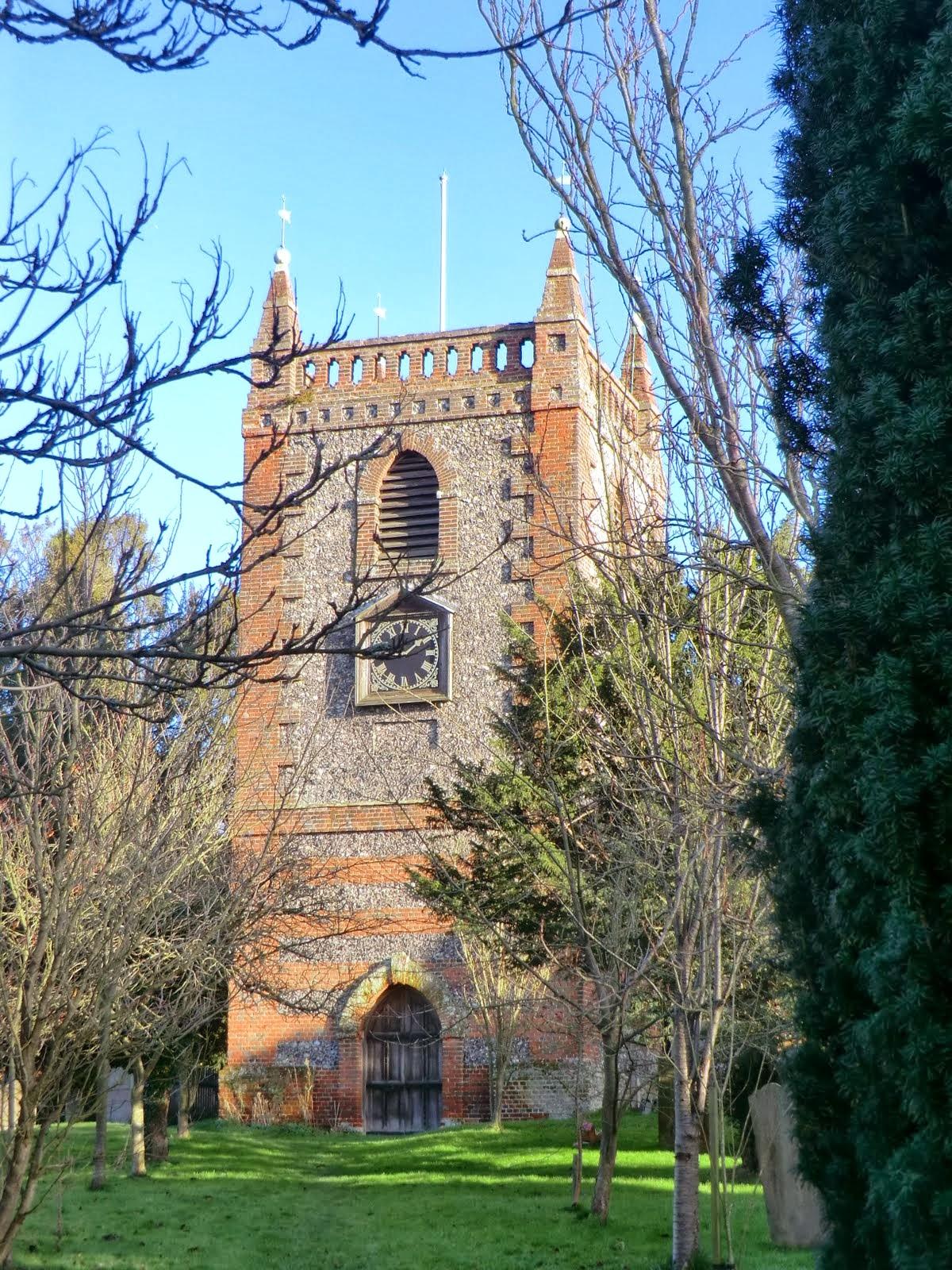 CIMG9745 Church of Ss Peter and Paul, Shoreham
