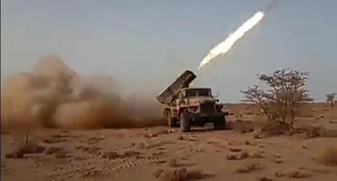 Fuego a lo bestia: así ataca el ejército saharaui con los lanzamisiles múltiples BM-21 (Vídeo).