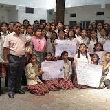 International Ozone Day Rally at Santosh Nagar Girls Branch