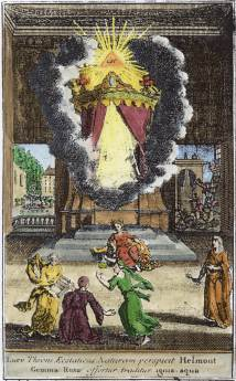 From Johann Heinrich Cohausen Helmontius Ecstaticus 1731, Alchemical And Hermetic Emblems 2