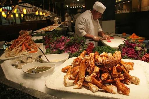 Crab at Bluefin Sushi Jim Bates