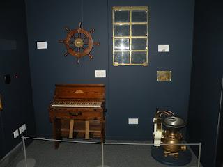 Госпорт. Музей Подводных Лодок. Предметы с подлодок.