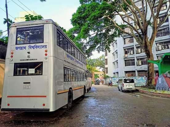 জনমানবহীন জগন্নাথ বিশ্ববিদ্যালয়