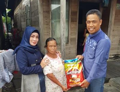 Peduli Warga Terdampak Corona, Bardiansyah Salurkan Sembako