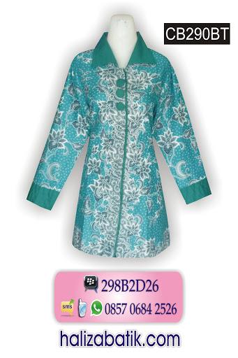 model batik, batik wanita modern, toko online baju