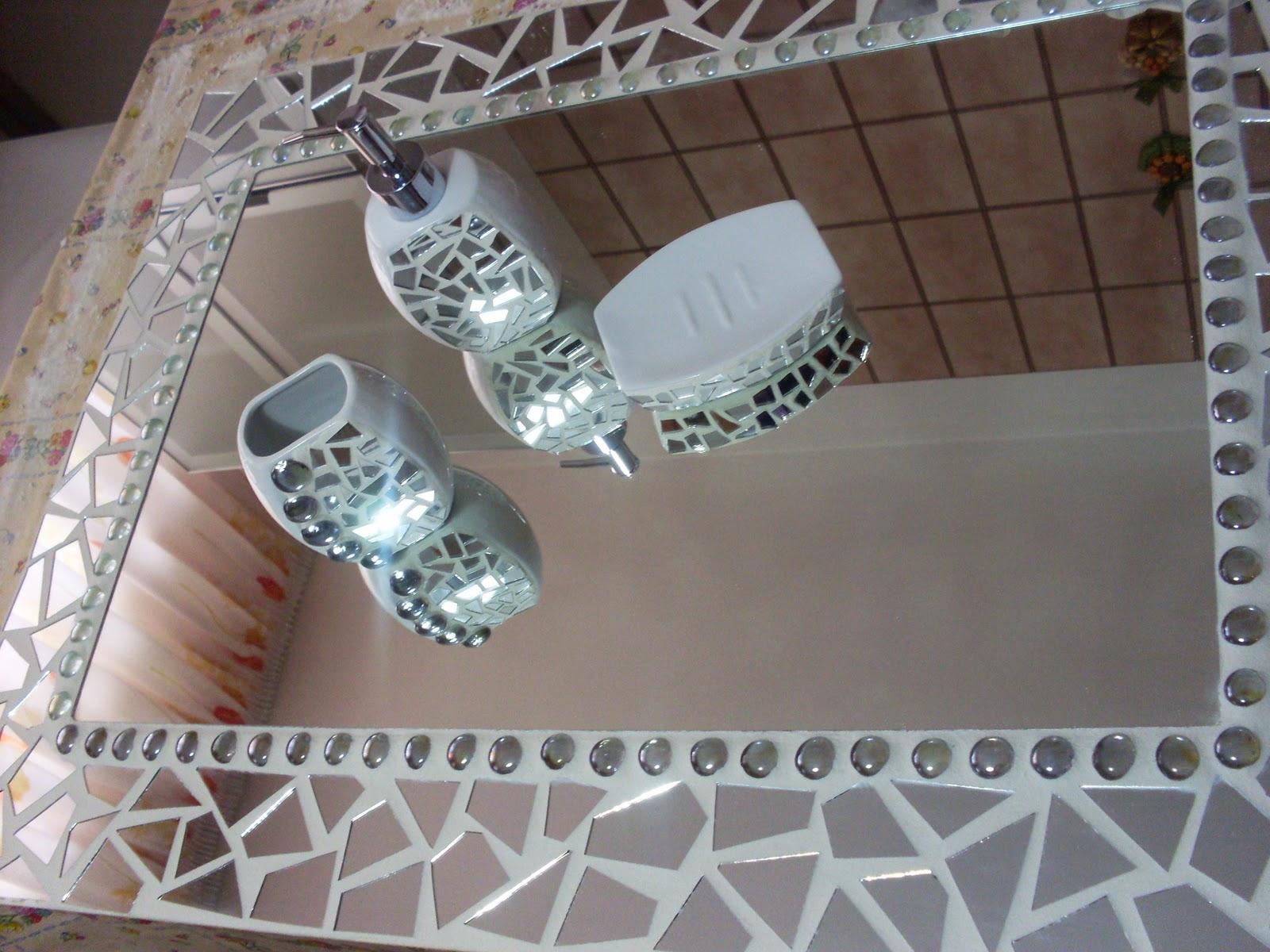 Creazioni artistiche di maria elena gentile specchio - Specchio con mosaico ...