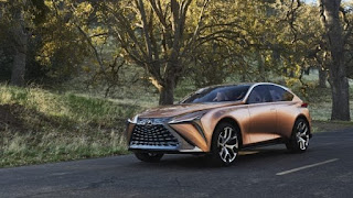 Lexus LF-1 Limitless Concept unveiled at Detroit Auto Show