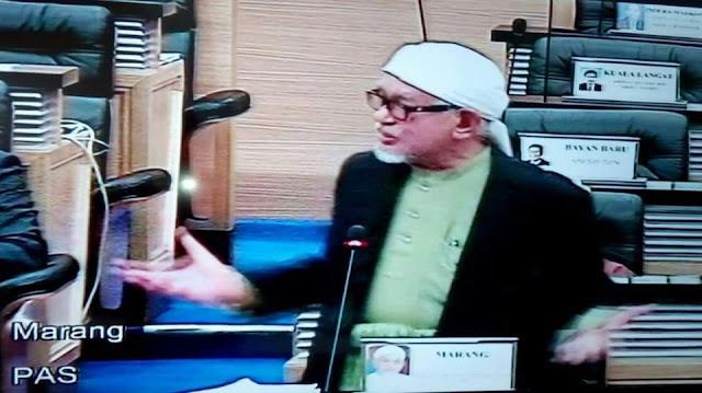 Catatan Khas: Tuan Guru Presiden PAS Berbahas, Dewan Parlimen Berubah Bagaikan Dewan Kuliah Universiti