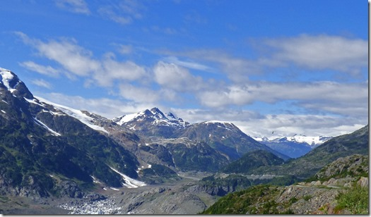 North of Salmon Glacier toward Granduc Mine